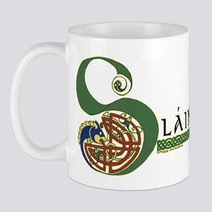 Slainte Celtic Knotwork Mug